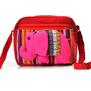 Women Cute Bag Elephant Crossbody Bag Mummy Bag Outdoor Picnic Bag
