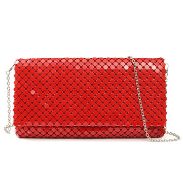 Women Fashion Sequined Clutch Bag Long Wallet