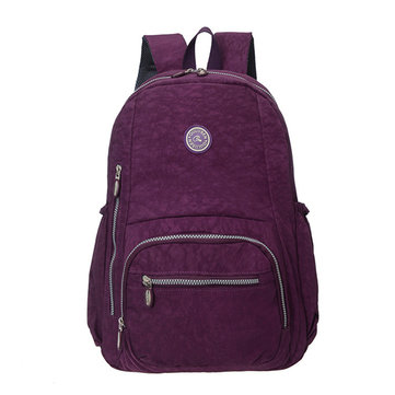 Women Nylon Waterproof casual Large Capacity Shoulder Bags Backpack
