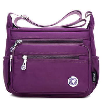 Women Nylon Lightweight Shoulder Bag Casual Outdoor Crossbody Bag
