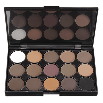 Smoked Eyeshadow Palette Warm Matte Shimmer
