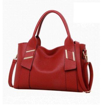 Women Vintage Pebbled PU Leather Shoulder Bags Handbag Crossbody Bag