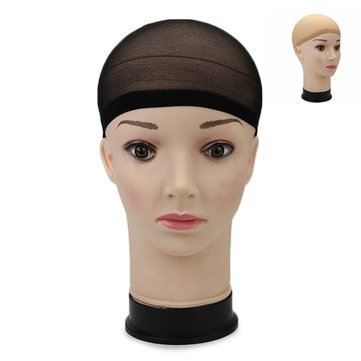 Elastic Wig Cap Hairnets Polyester Stretch Stocking Snood Liner Mesh