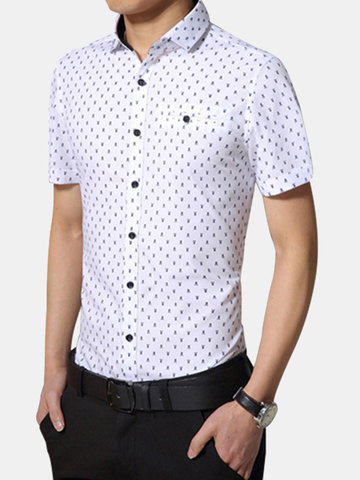 Business Short-sleeved Dress Shirts