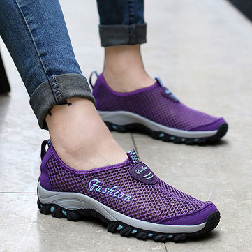 Big Size Quick Drying Outdoor Hiking Sport Casual Shoes For Women