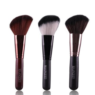 MAANGE 3 Colors Oblique Head Makeup Brush Powder Concealer Blush Cosmetics Tools