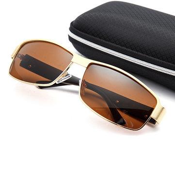 Мужские винтажные поляризованные солнцезащитные очки для путешествий Спорт на открытом воздухе UV400 Анти-UV солнцезащитные очки Gaggle Travel