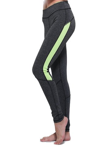 Sexy Patchwork Stretch Quick Dry Active Leggings