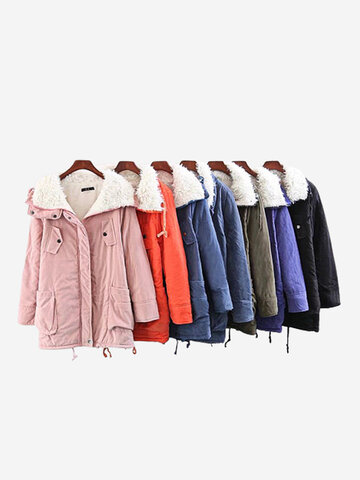 Long Sleeve Thicken Winter Coats
