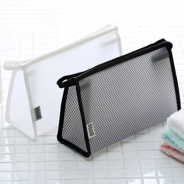 Portable Reticular Travel Cosmetic Wash Storage Bag Storage Containers Travel Organizer