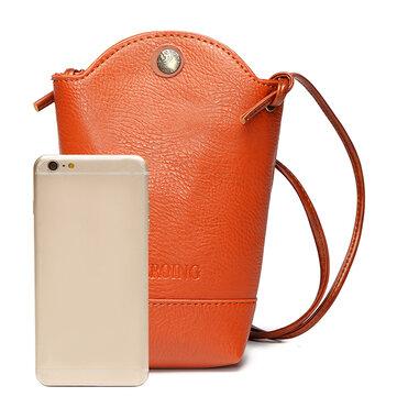 Женская Нерегулярная Сумка Для Телефона Повседневная PU Crossbody Bag