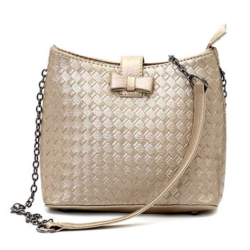 Women Casual Chain Crossbody Bag Ladies Elegant Shoulder Bag
