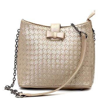 Женщины случайные цепи кросс-кошелек сумка дамы Элегантная сумка