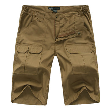 Mens Outdoor Wear-resistant Tactical Military Cargo Shorts Multi-pocket Sport Shorts