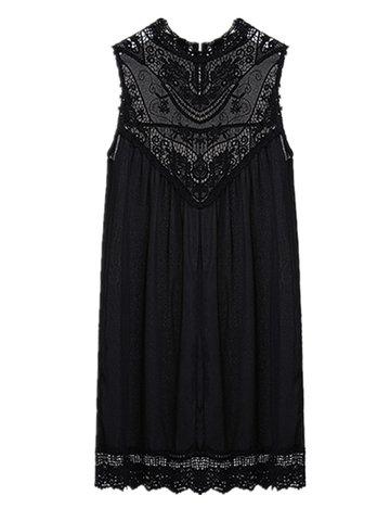 Сексуальное платье с кружевным кружевом с кружевным кружевом