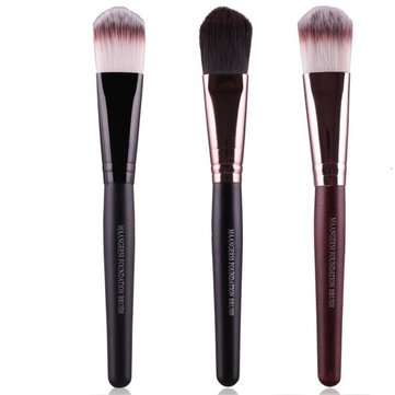 MAANGE Makeup Brush Powder Blush Contour Foundation Cosmetics Tools 3 Colors
