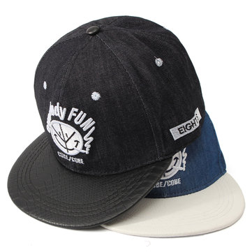 Men Women Denim Snapback Hats Baseball Caps Adjustable Hip Hop Hat