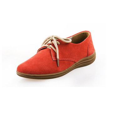 Leather British Style Soft Sole Casual Flat Lace Up Oxford Shoes