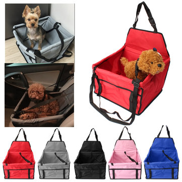 40*30*25cm Pet Car Mats Travel Bag Seat Booster Carrier Antifouling Belt Cover For Dog Cat Safety