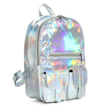 Hologram Laser Harajuku Preppy Style Backpack
