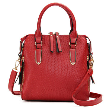 Mulheres Stylish Alligator Pattern PU Leather Handbag Shoulder Bags Crossbody Bags