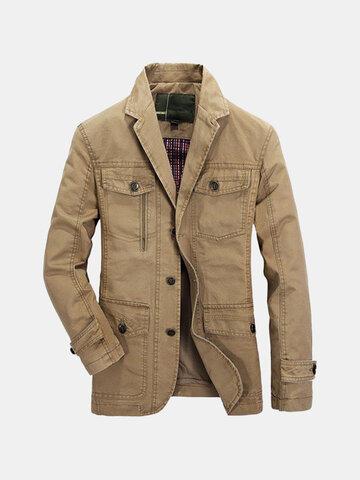 Men's Plus Size Outdoor Jacket