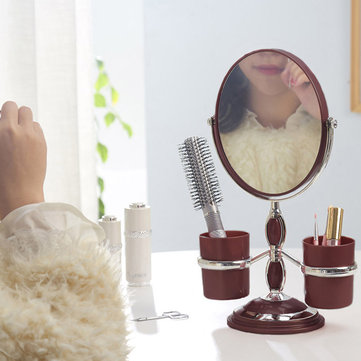 360 Degree Rotation Desktop Mirrors Double-sided Makeup Mirror Cosmetic Detachable