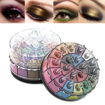 20 Colors Shimmer Glitter Eye Shadow Powder Palette Matte Eyeshadow Makeup Cosmetic kit