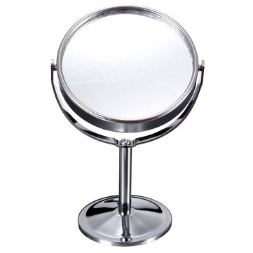 Magnifying Rotatable Double-Sided Desktop Cosmetic Vanity Mirror