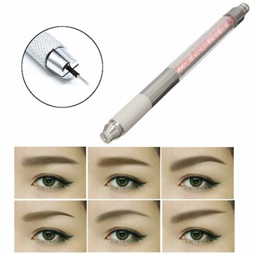 Professional Permanent Makeup Manual Eye Eyebrow Pen Tattoo Microblading