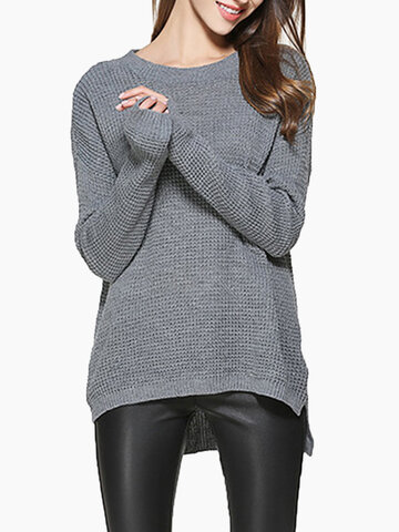 Casual Loose Women Knitted Sweaters