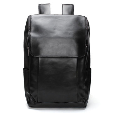 For 11''13''15'' MacBook Pro Laptop PU Leather Backpack Vintage Shoulder Bag