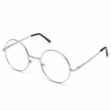 Men Women Vintage Round Circle Eyeglasses Clear Lens Glasses