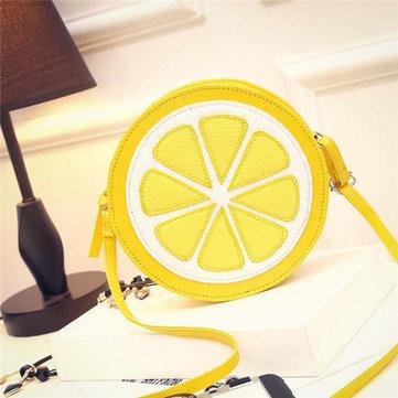 Sacchetti svegli delle donne Sacchetti di spalla belli di disegno del limone Sacchetti di Crossbody
