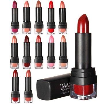 IMAGIC 12 цветов Женская губная помада Длительный блеск для губ Косметический инструмент красоты