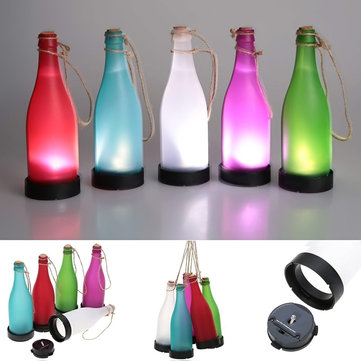 5pcs LED Solar Wine Bottle Lights