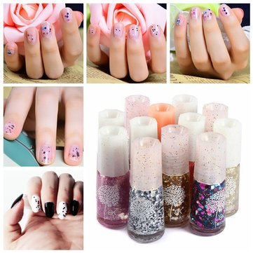 BK Peelable Nail Gel Water-Based Nails Art Polish Sequins Decoration