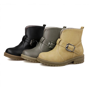 Keep Warm Pure Color Boots