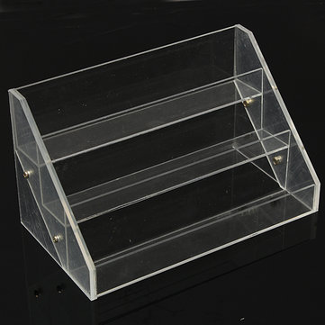 3 Tiers Acrylic Uail Polish Display Stand Cosmetic Container