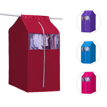 Coat Clothes Cover Bags Dustproof Hanger Storage Protector Travel Storage Organizer Case