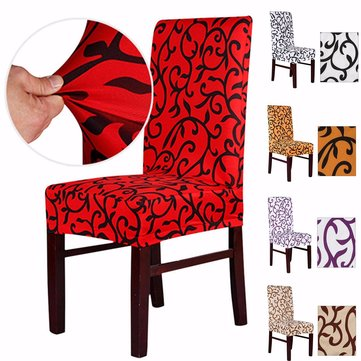 Elegant Spandex Elastic Stretch Chair Seat Cover Computer Dining Room Wedding Kitchen Decor