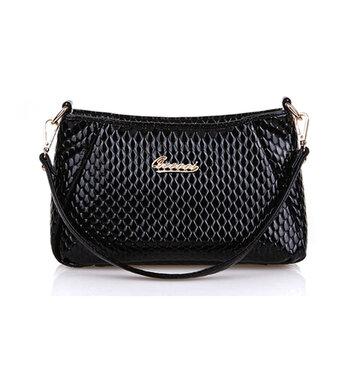 Женщины Pu Crocodile Crossbody Сумка Сумка Сумка Сумка