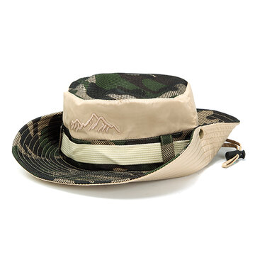 Outdoor Breathable UV Protection Visors Bucket Hat