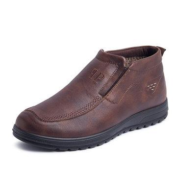 Hommes vieilles bottes de cheville occasionnels