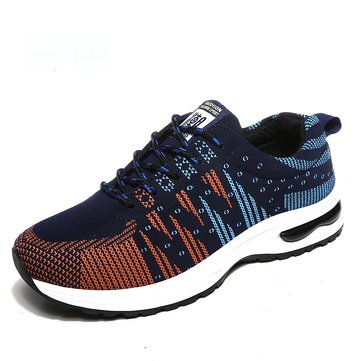 Men Fabric Wearable Resistant Breathable Lace Up Casual Sneakers