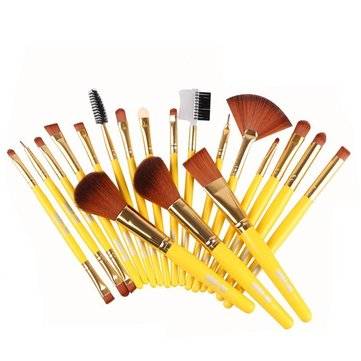 MAANGE 19 Pcs Professional Makeup Brush Set Blush Cosmetic Brushes Tools Kit 3 Colors