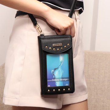 5.5inch Phone Bag PU Leather Wallet