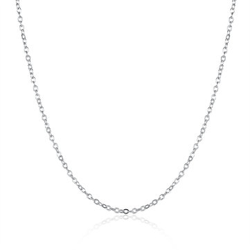 Simple Necklace Platinum Silver Gold Rose Gold Women Necklace