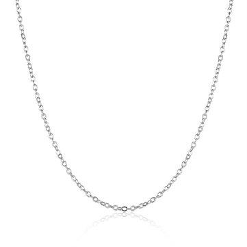 Простой ожерелье Платиновое серебро Золото Розовое золото Женское ожерелье
