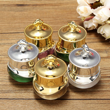 Buy 5g Crown Empty Pot Bottle Sample Nail Art Makeup Cosmetic Cream Container